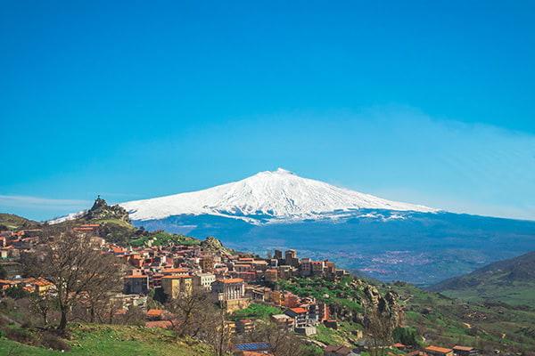 Mont Etna en Sicile