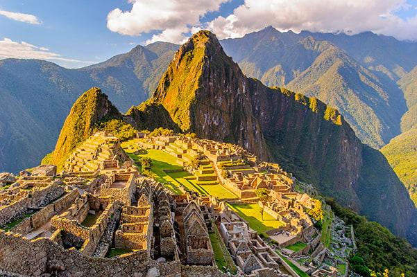 Site du Machu Picchu au Pérou