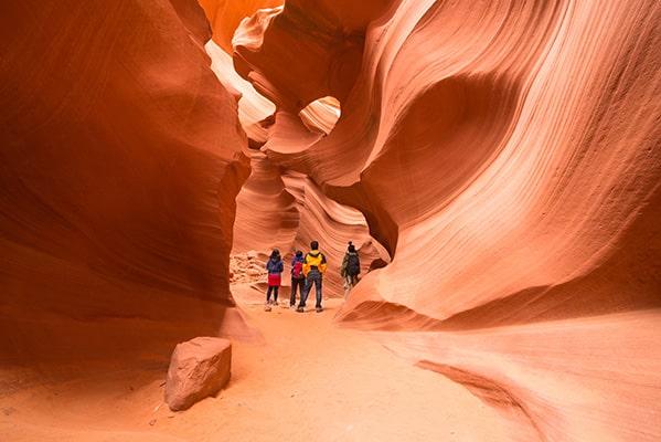 Antelope Canyon aux Etats-Unis