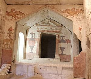 Visite guidée du site biblique de de Maresha en Israël