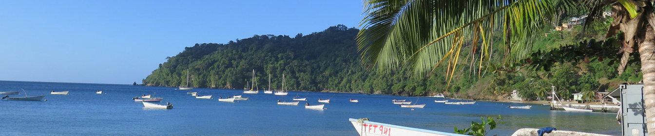 Les belles plages de Trinidad & Tobago