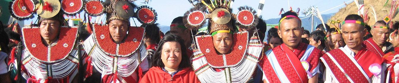 Le festival rituel du Nouvel An Naga