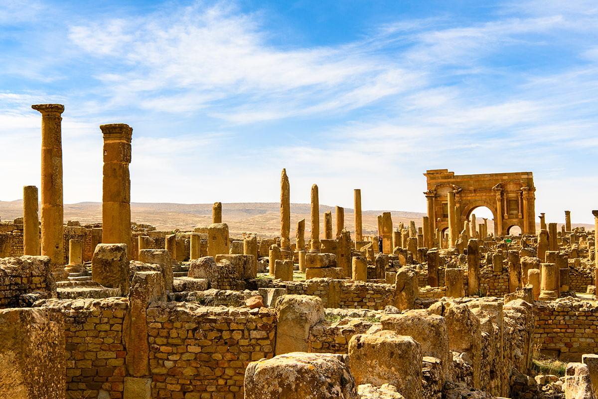 Circuit Antique en Algérie