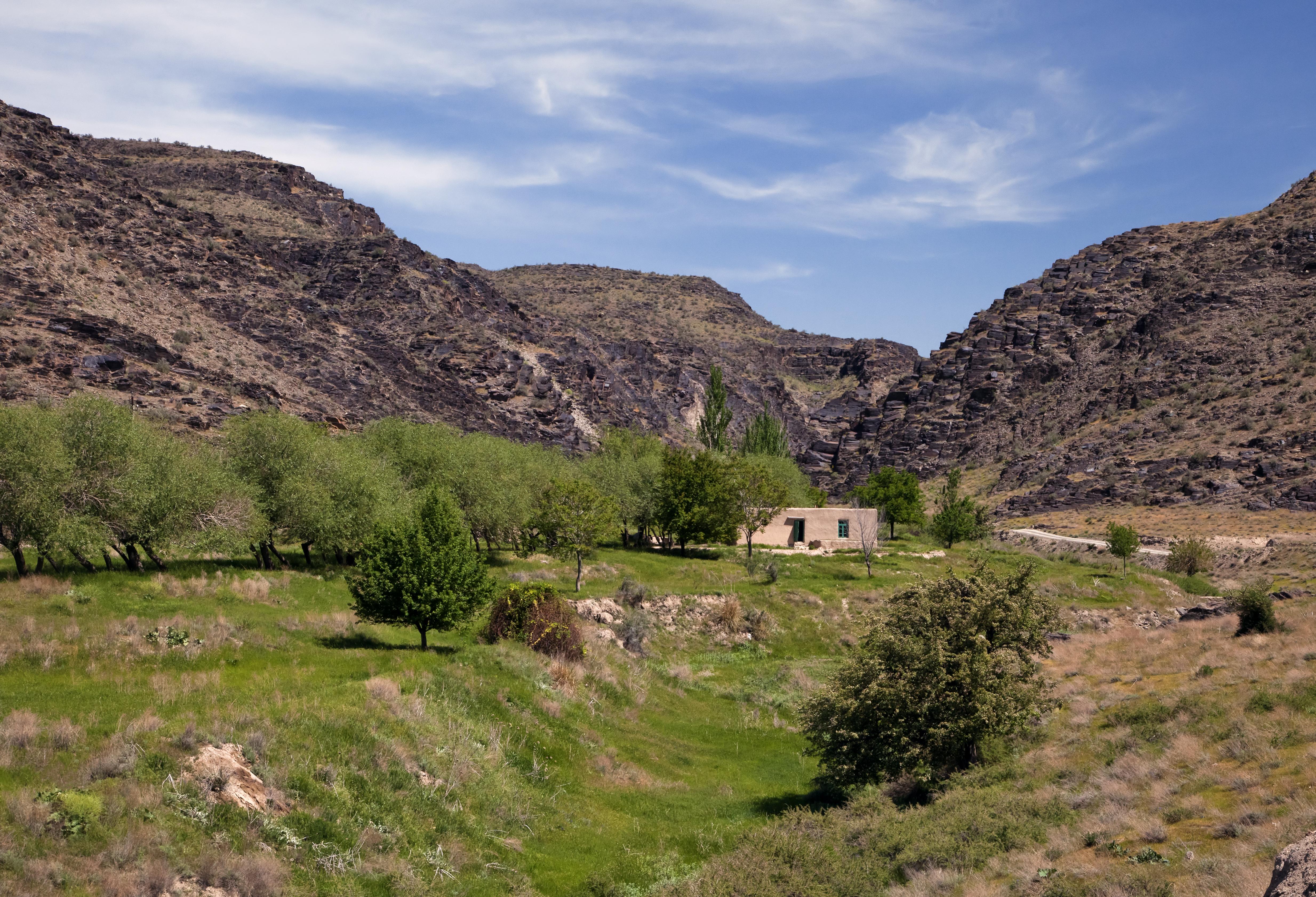 Trek dans les montagnes de Nurata