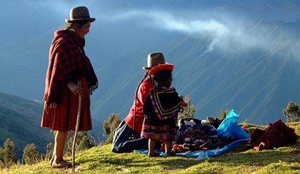 Sur les chemins Inca du Pérou