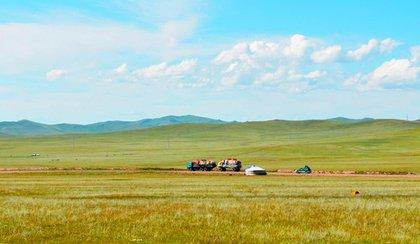 Immensités de Mongolie