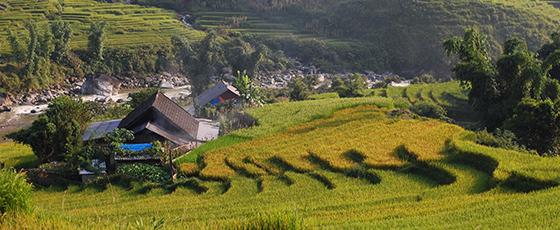 Village de Pan Hou au Vietnam, unedes lodges de charme sélectionnée par Amica travel, agence de voyage locale au Vietnam