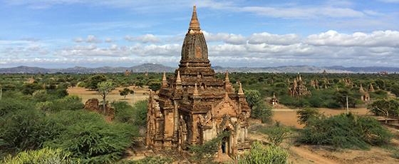 Saï de Manipura Travels nous guide sur les chemin de la Birmanie à la découverte du site de Bagan