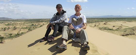 En trek dans le désert du Petit Gobi avec l'agence locale Ciel Mongol