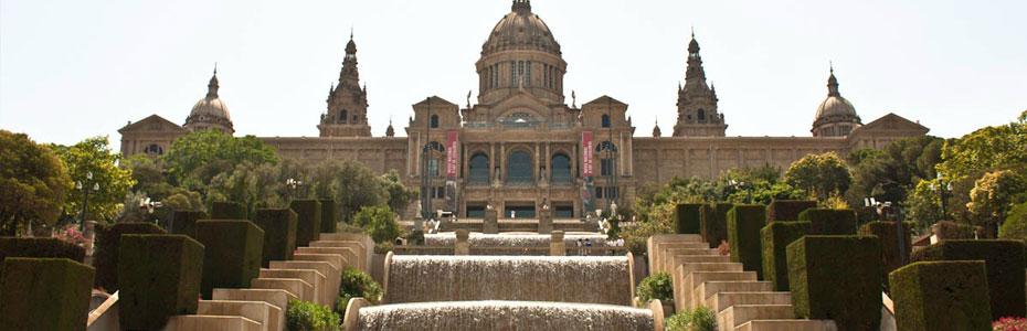 Barcelone, le Parc Montjuic et les jardins du chateau