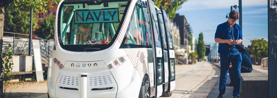 Lyon accueille les navettes Navly à Confluences