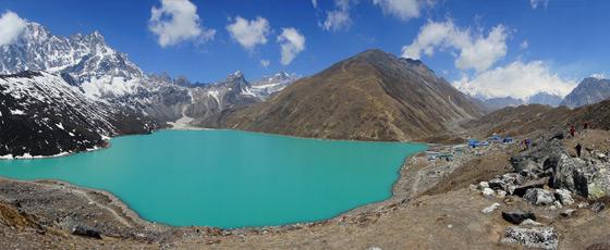 Que faire aux lacs Gokyo au Népal