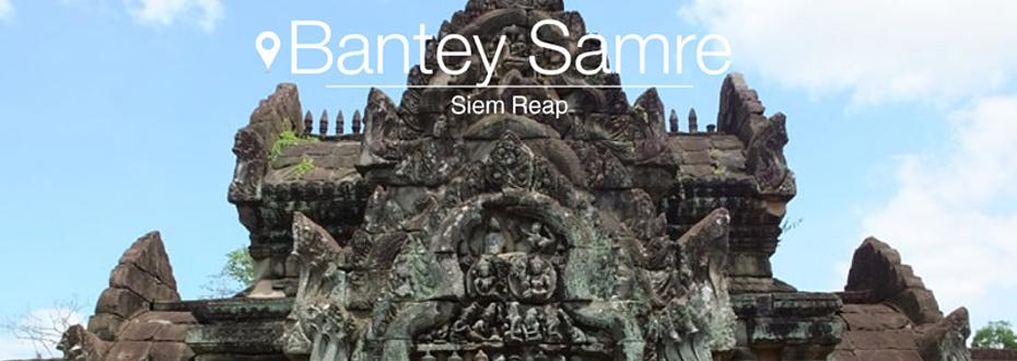 Bantey Samré, un temple dédié à Viṣṇu