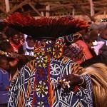 Danseur Bamileke au Cameroun.