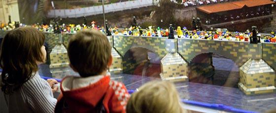 Le musée du Lego, une des meilleures activités à faire à Prague avec les enfants.