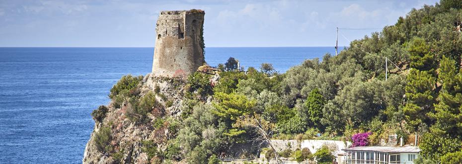La côte près d'Amalfi