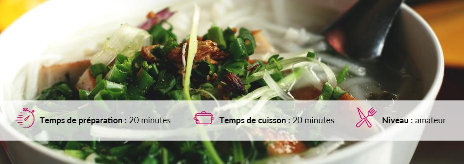 Le kaopoon est un plat que l'on voit régulièrement dans la cuisine laotienne.