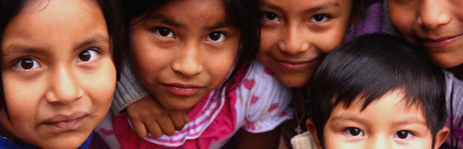 Jeunes enfants du village de San Pedro de Atacama.