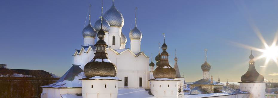 Dans le top 10 des choses à voir absolument en Russie : l'Anneau d'Or