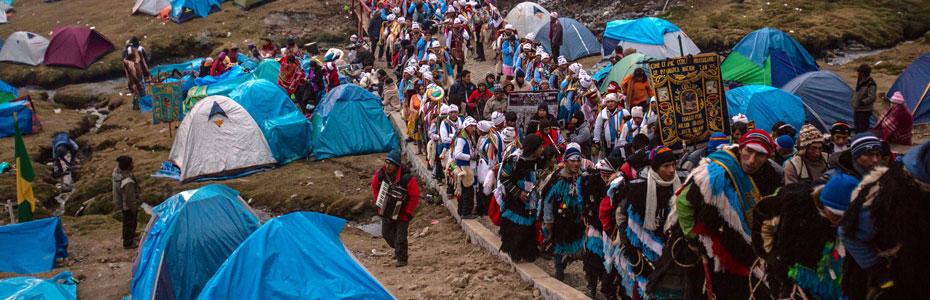Le pélerinage, l'une des expériences à vivre au Pérou.