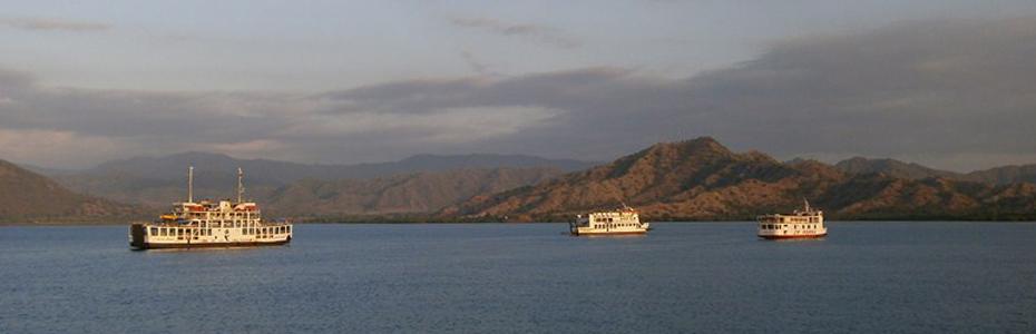 L'île de Sumbawa en Indonésie.