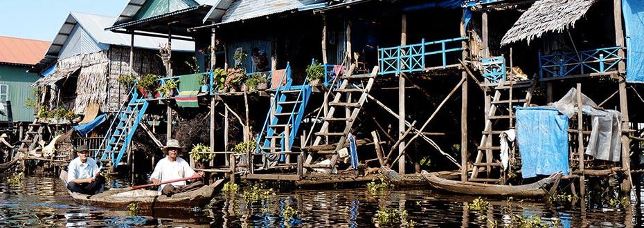 le fleuve Mekong au Cambodge