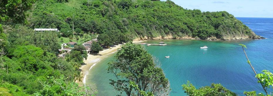 L'exotisme des belles plages de Trinidad et Tobago