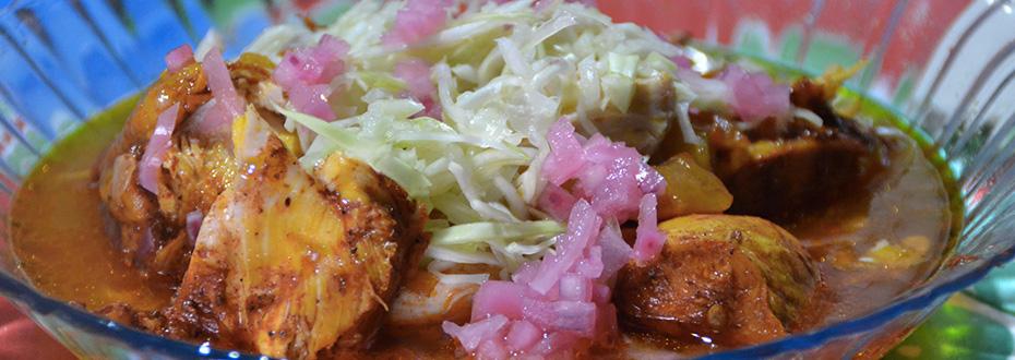 plat traditionnel du yucatan au mexique