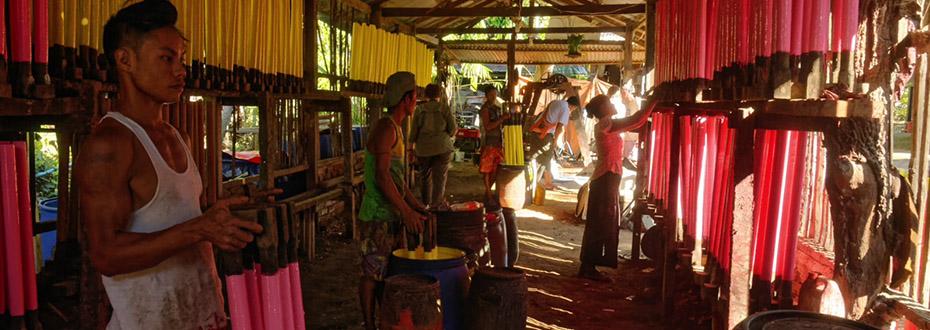 île de Bilu en Birmanie