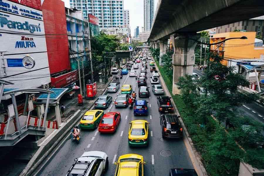 arrivée du permis de conduire à points en Thailande
